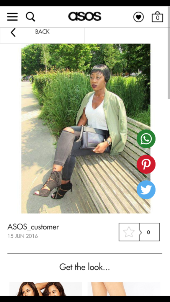 Screenshot- Asos Feature